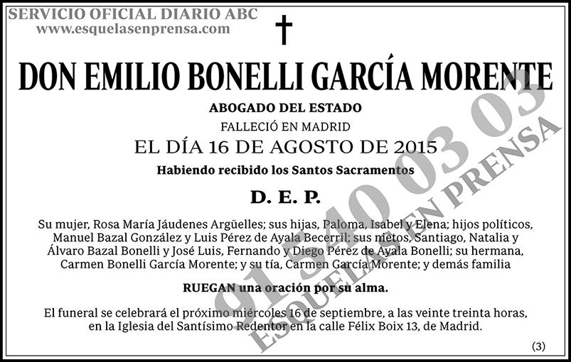Emilio Bonelli García Morente
